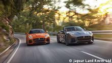 Beschreibung Jaguar F-Type SVR Quelle: Jaguar Land Rover Ltd *** Frei zur Verwendung für Pressezwecke ****