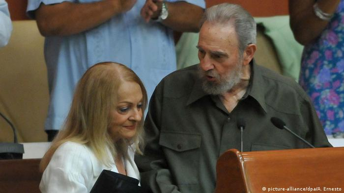 Kuba Fidel Castro erstmals seit Jahren im Parlament