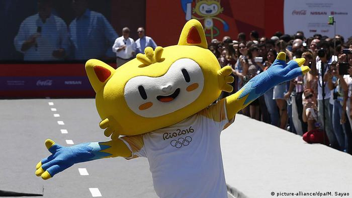Brasilien Bekanntgabe Route Olympische Fackel