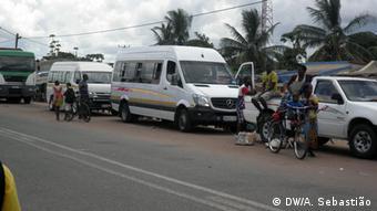 Mosambik Straße in der Provinz Sofala