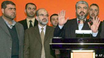 Hamas delegation in Turkey