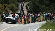 Mexiko Angehörige der 43 vermissten Studenten