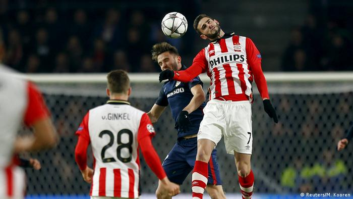 UEFA Champions League PSV Eindhoven - Atletico Madrid