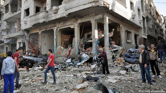 Ruins of Homs, Syria