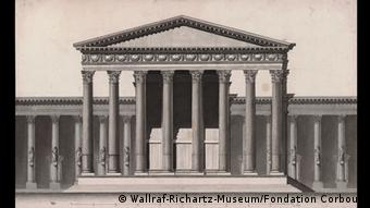 The Temple of Bel as drawn by Louis François Cassas in 1785, Copyright: Wallraf-Richartz-Museum/Fondation Corboud