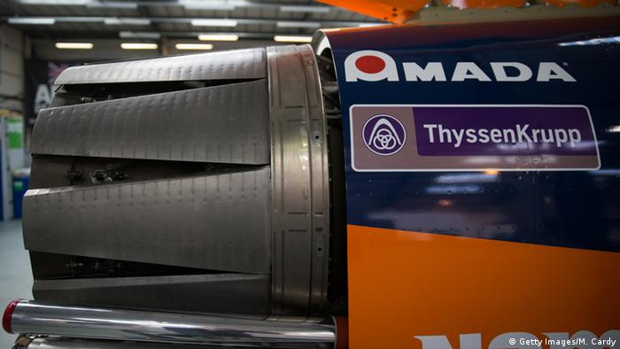 Heck des Ultraschall-Wagens Bloodhound (Foto: Getty Images/M. Cardy)