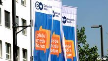 GMF Global Media Forum Flaggen Deutsche Welle (DW)