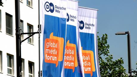 GMF Global Media Forum Flaggen Deutsche Welle