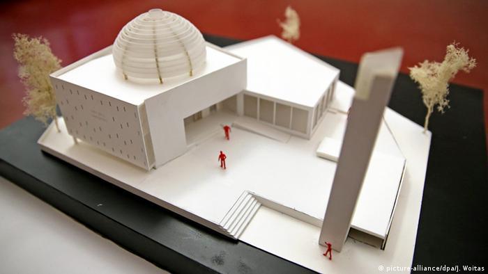 Deutschland Leipzig Moschee Modell