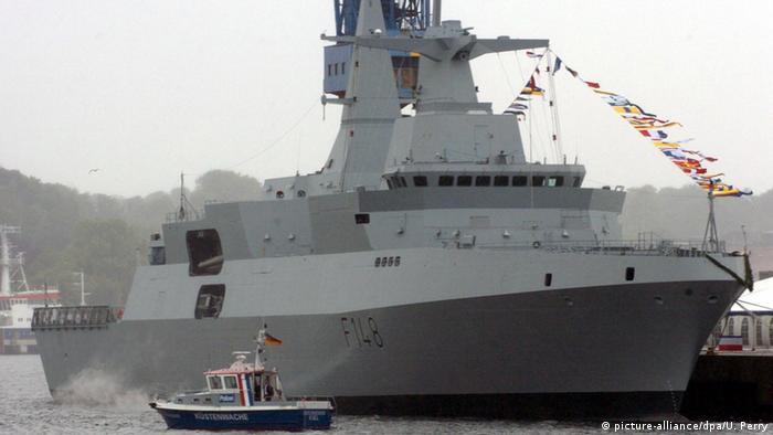 """Corvetas serão baseadas em navios da classe """"Meko"""