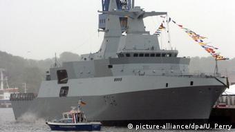 Deutschland Kiel Korvette Fregatte , MEKO A-200 SAN