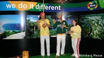 Brasilien präsentiert Kampagne We do it diferent auf der Biofach 2006