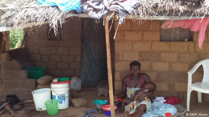 Os centros de acolhimento na província da Zambézia têm cada vez menos famílias