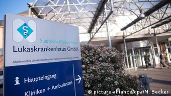 Lukas Hospital (photo: picture-alliance/dpa/M. Becker)