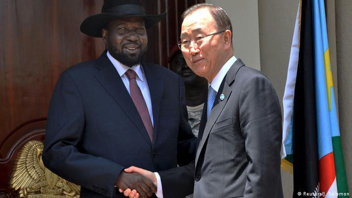 Ban Ki-moon in South Sudan