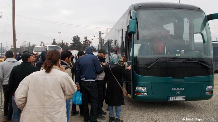 Flüchtlingscamp von Idomeni