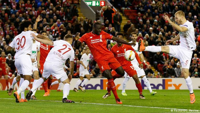 UEFA Europa League Liverpool vs. FC Augsburg