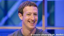 25.02.2016+++ Facebook-Chef Mark Zuckerberg spricht am 25.02.2016 in Berlin im Facebook Innovation Hub. Zuckerberg hatte unter anderem Studien zur künstlichen Intelligenz vorgestellt. Foto: Kay Nietfeld/dpa +++ (C) picture-alliance/dpa/K. Nietfeld