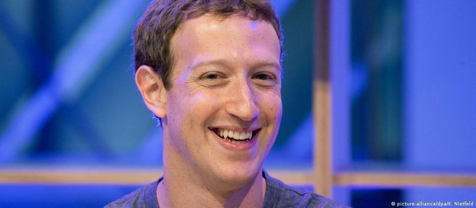 Zuckerberg ficou na sexta posição do ranking