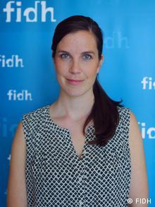 Michelle Kiesenkoetter, de la FIDH