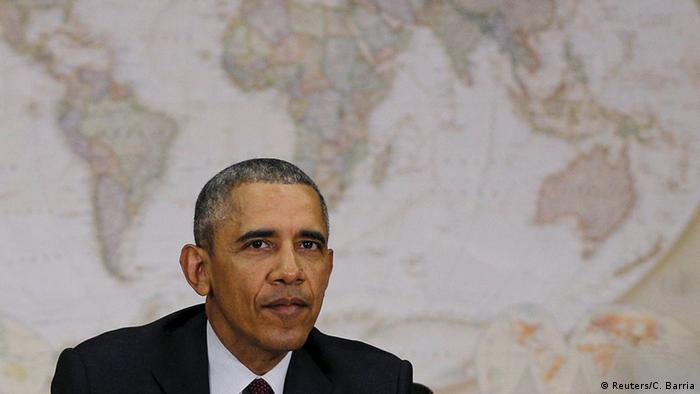 USA Präsident Obama zu Lage in Nahost (Foto: Reuters/C. Barria)