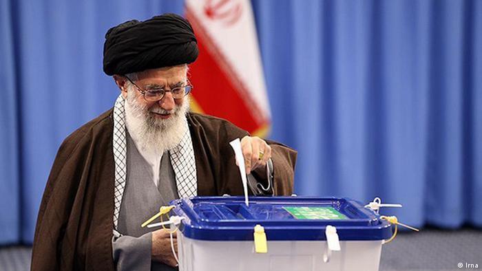 Iran Wahlen 2016 Khamenei