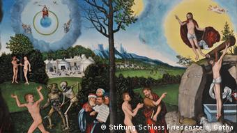 Law and Grace by Lucas Cranach, the Elder, 1529, Copyright: Stiftung Schloss Friedenstein, Gotha
