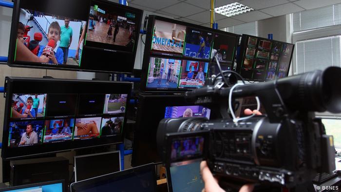 Bulgarien verschiedene TV-Kanäle (BGNES)