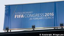 Schweiz Zürich FIFA Außerordentlicher Kongress