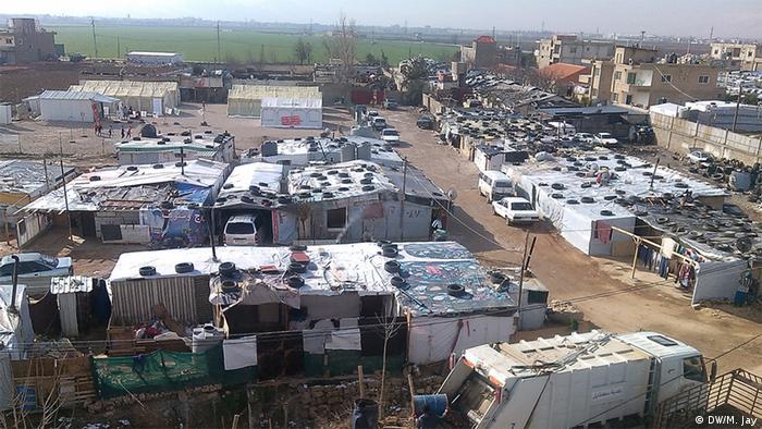 Libanon Flüchtlingslager in Zahle