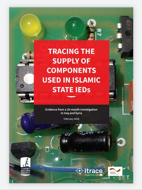 Cover Studie Tracing the supply of components used in islamic state IEDs