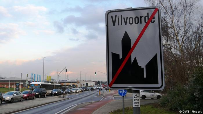 Belgien Radikalisierung muslimischer Jugendlicher (DW/B. Riegert)