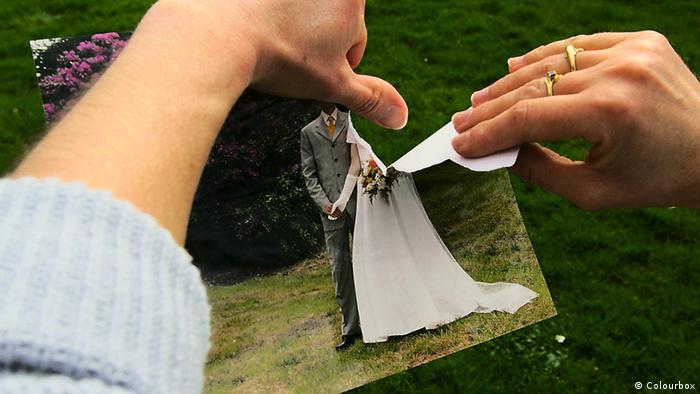 Scheidung Symbolbild