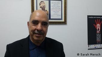 Abdessatar Ben Moussa (Foto: DW/Sarah Mersch)