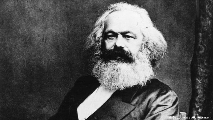 Karl Marx Philosoph und Ökonom (Getty Images/H. Guttmann)