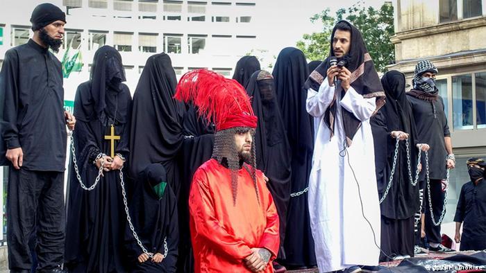 Activists of 12thMemoRise in Essen (photo: 12thMemoRise)