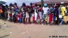 21.02.2016+++ Impfkampagne in Luanda gegen Gelbfieber in der Provinz Luanda, Angola. (c) DW/B. Ndomba