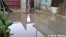 Angola Luanda stehendes Wasser in Luanda