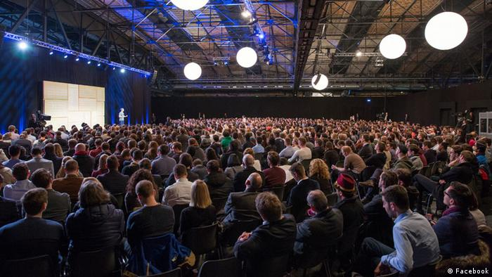 Townhall Q&A mit Mark Zuckerberg in Berlin (Foto: Facebook)