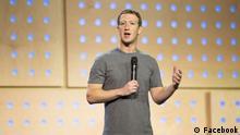 26.02.2016+++ Deutschland Townhall Q&A mit Mark Zuckerberg in Berlin. Quelle: Facebook, keine Einschränkungen +++ (C) Facebook