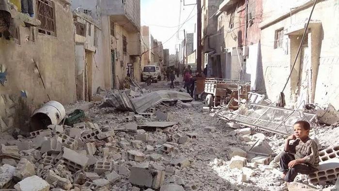 CARE Arbeiten in Syrien