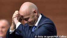 Schweiz Neuer FIFA Präsident Gianni Infantino