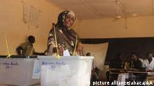 Niger Wahlen Wähler