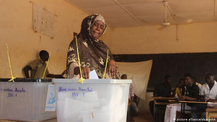 Niger Wahlen Wähler (picture alliance/abaca/AA)