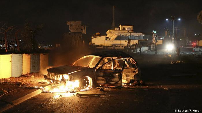 Somalia Angriff auf Hotel in Mogadischu
