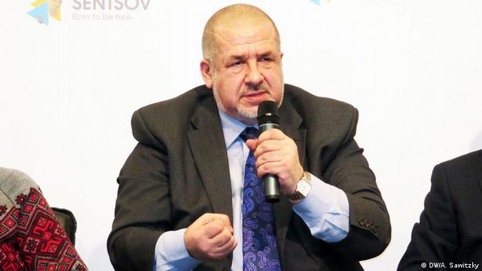 Ukraine Kongress der Krimtataren in Kiew