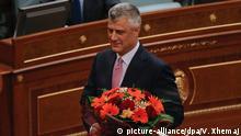 Kosovo Präsidentenwahl Hashim Thaci