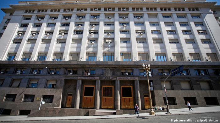 Argentinien Wirtschaftsministerium in Buenos Aires