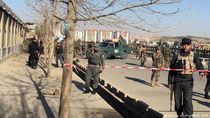 Afghanistan Kabul Selbstmordattentat vor Verteidigungsministerium