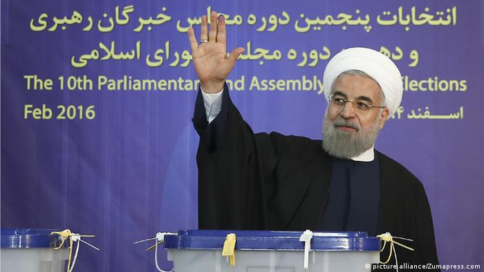 Präsident Hassan Rohani (Foto: Zumapress)